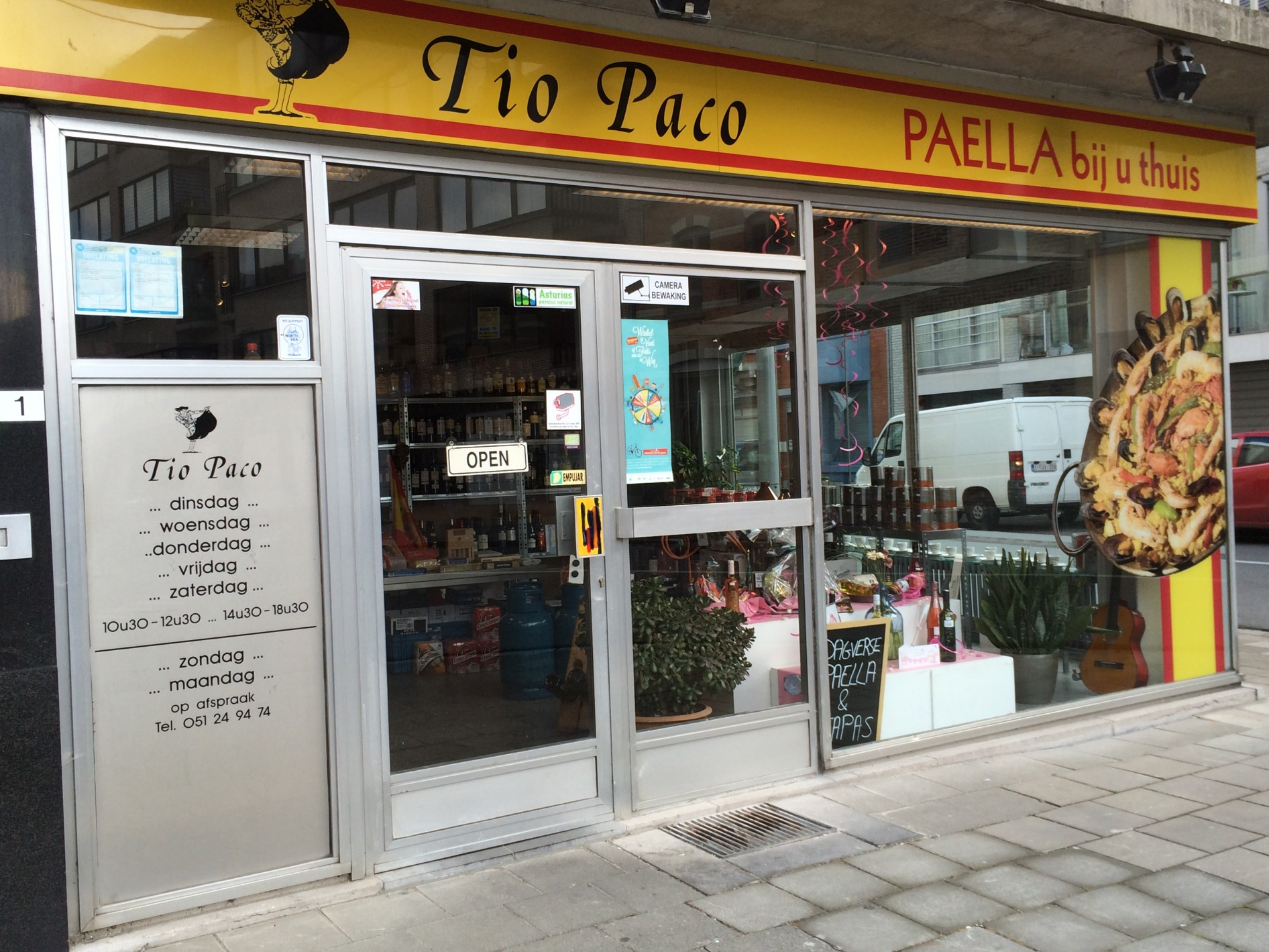 Welkom bij Tio Paco, Sinds 1995 is de naam Tio Paco synoniem met overheerlijke tapasbuffetten...