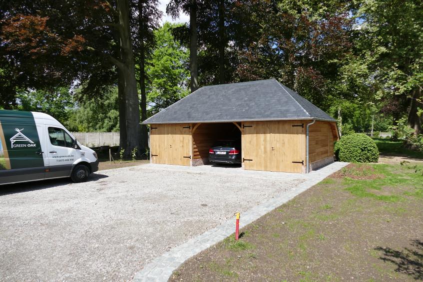 Carport in eik - Green Oak in samenwerking met Cornelis Hout - 1.jpg