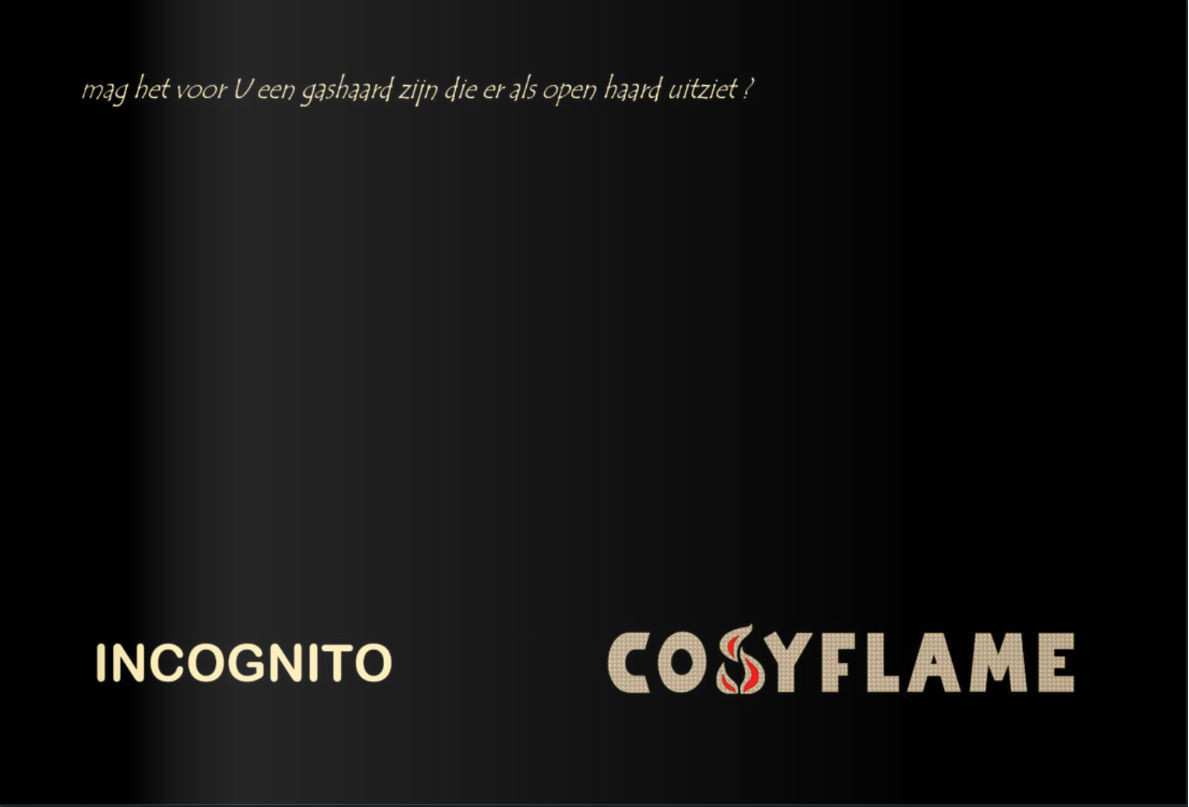 Cosyflame Brochures Incognito