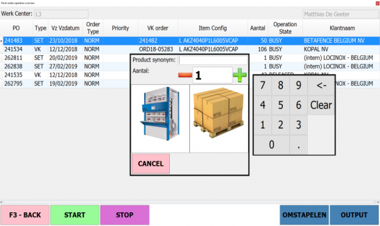 Fully integrated setupWMSWarehouse Management SystemMES/VASManufacturing Execution system/Value Added Services In discrete...
