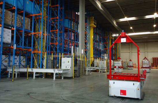 In house C&W MHE connector (Material Handling Equipment)  Proven integrations with diverse warehouse automationsHigh bay warehouses (Double deep, Multi deep shuttle, Magmatic...