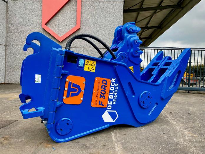 1416 Vergruizer vast 35-55 ton F30RD CW45-CW55s 3