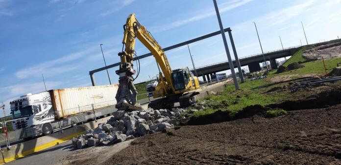 1425 Roterende betonschaar 20-35 ton HCC24V CW45 2