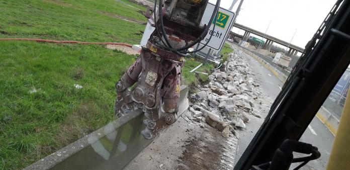 1425 Roterende betonschaar 20-35 ton HCC24V CW45 5