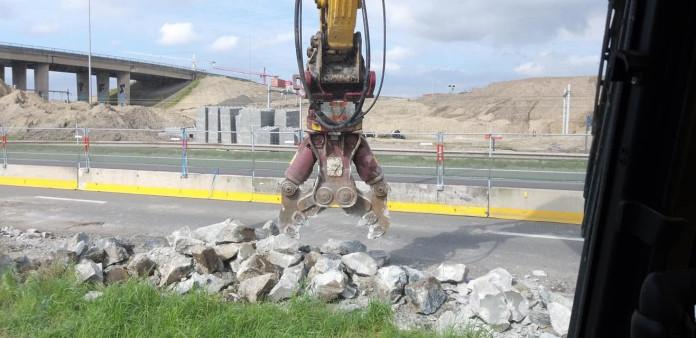 1425 Roterende betonschaar 20-35 ton HCC24V CW45 6