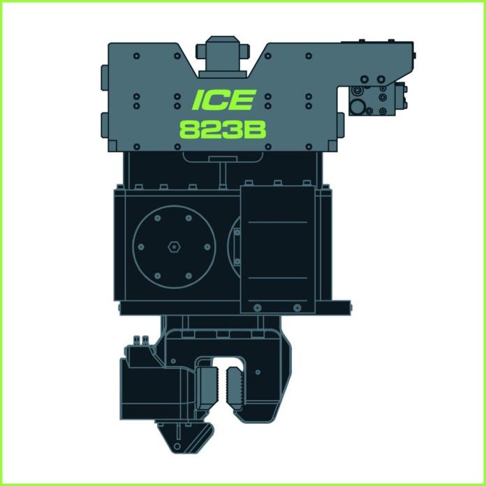 1430 - ICE 823B Hydraulische trilblok