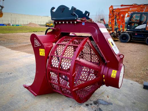 1494-01 Hydraulische trommelzeefbak 13-25 ton CW40 HSB-1900 3
