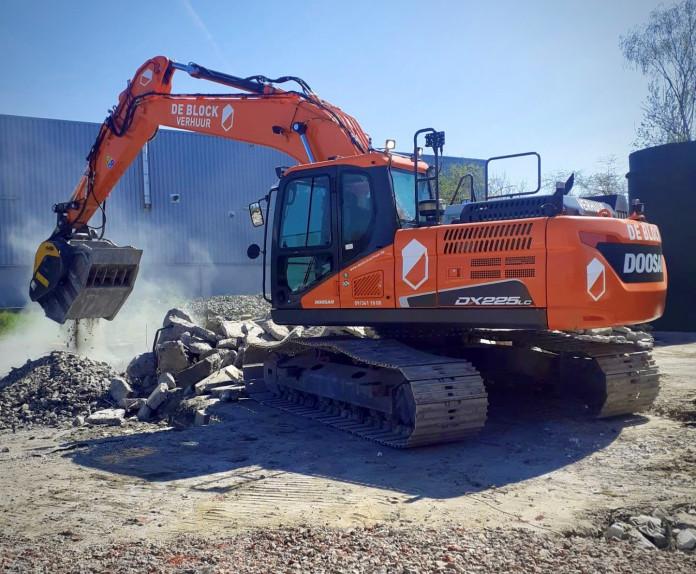 1496 - Hydraulische breekbak 20-30 ton MB80.3s4 cw40 - doosan dx225