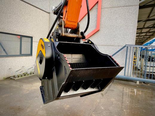 1496 - Hydraulische breekbak 20-30 ton MB80.3s4 cw40 4