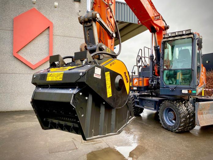 1496 - Hydraulische breekbak 20-30 ton MB80.3s4 cw40 7