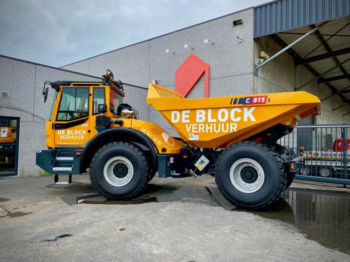 3222 - Dumper LV 12t Bergmann C815s 1