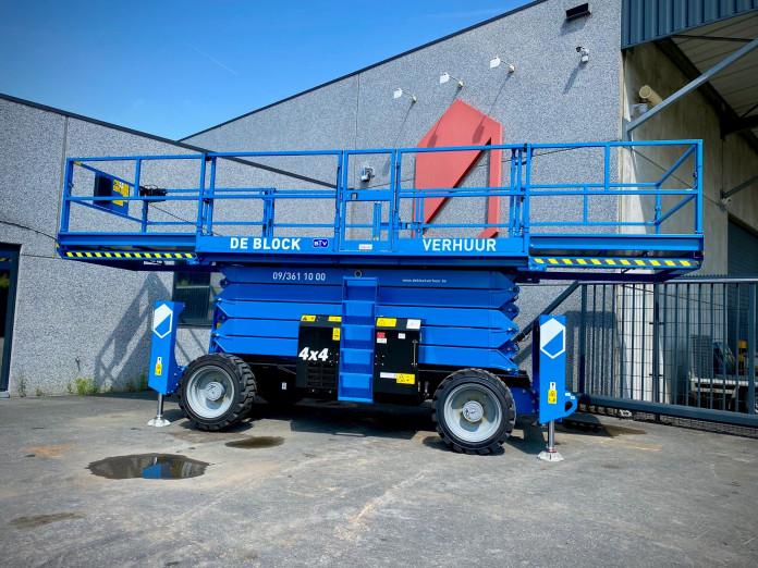 4107 - Schaarlift Diesel WH 18m Genie 5390RT 1