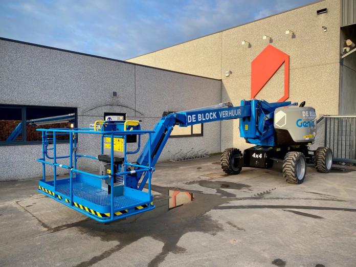 4304 - Diesel knikhoogwerker wh 20,9 m Genie Z62-40 3