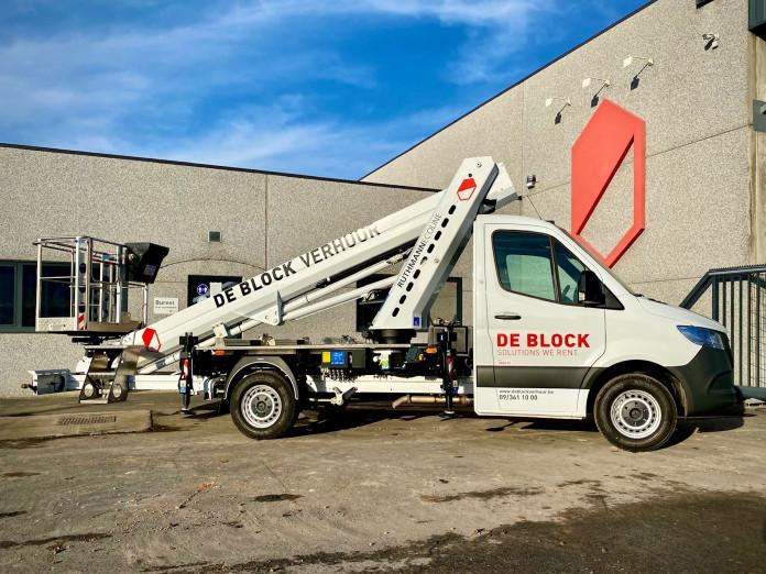 4605 - Hoogwerker op vrachtwagen rijbewijs B WH 23m Ruthamnn 230 Ecoline 1