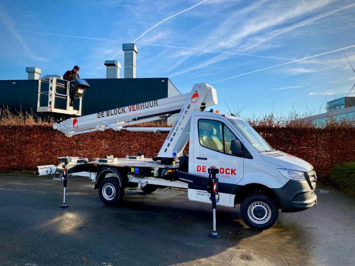 4605 - Hoogwerker op vrachtwagen rijbewijs B WH 23m Ruthamnn 230 Ecoline 2