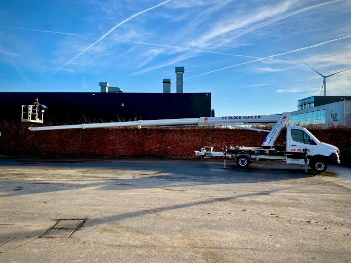 4605 - Hoogwerker op vrachtwagen rijbewijs B WH 23m Ruthamnn 230 Ecoline 3