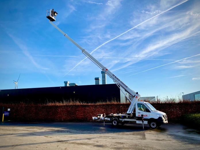 4605 - Hoogwerker op vrachtwagen rijbewijs B WH 23m Ruthamnn 230 Ecoline 4