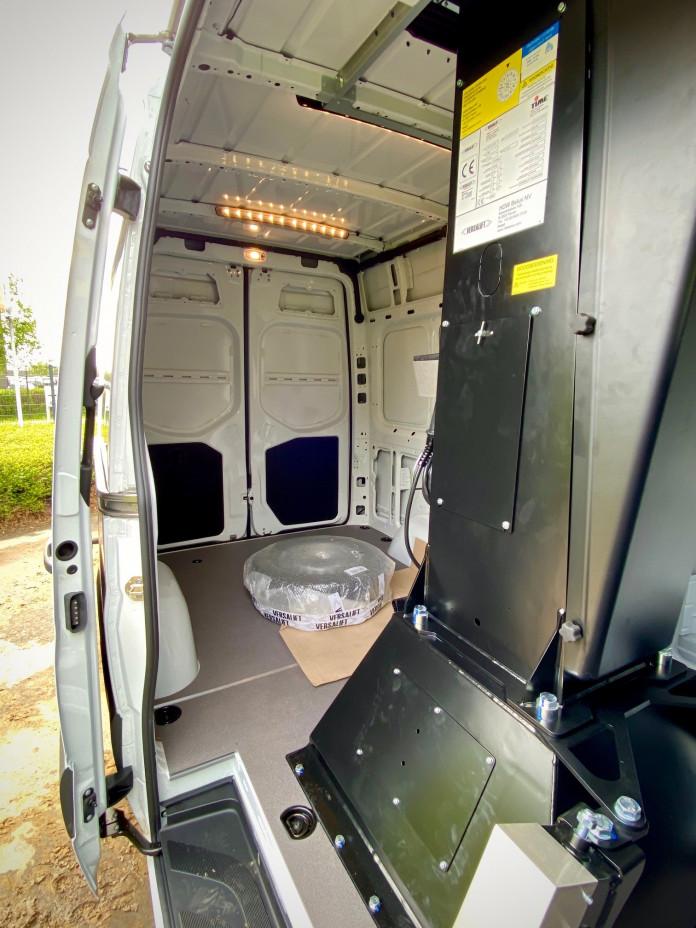 4620 Hoogwerker op bestelwagen WH 14 m VTL-140F 4
