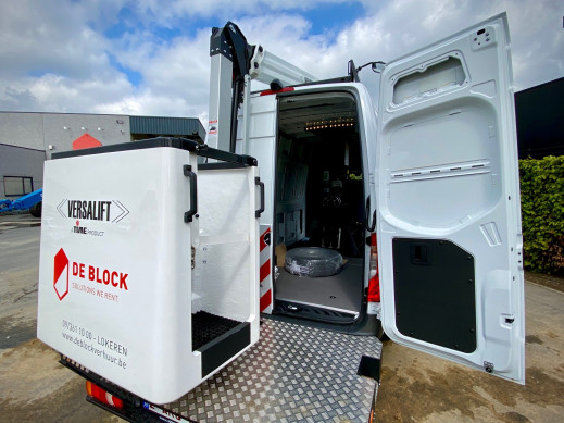 4620 Hoogwerker op bestelwagen WH 14 m VTL-140F 5