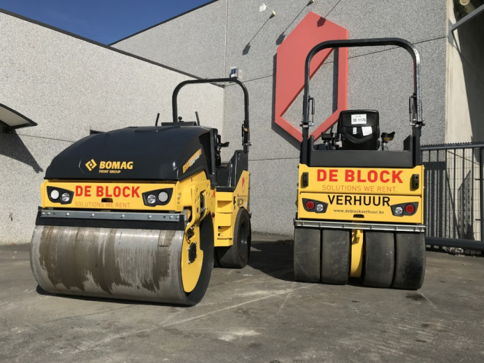 Bomag BW138AC Combiwals