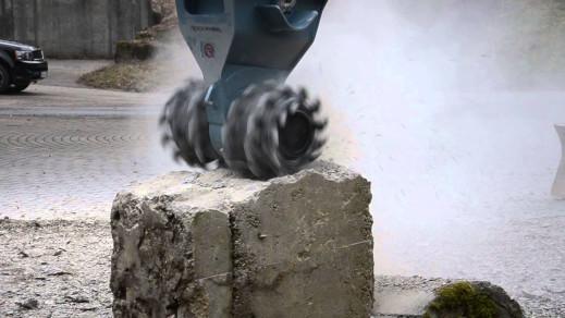 Demolitionfrees kranen 13-21 ton CW30 Rockwheel D15 3