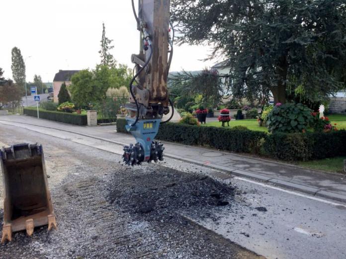 Demolitionfrees kranen 13-21 ton CW30 Rockwheel D15 4