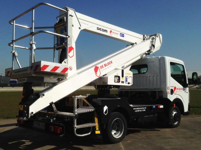 Hoogwerker op vrachtwagen wh 20m Palfinger P200A