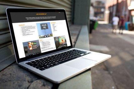 Website Schermhuren.be