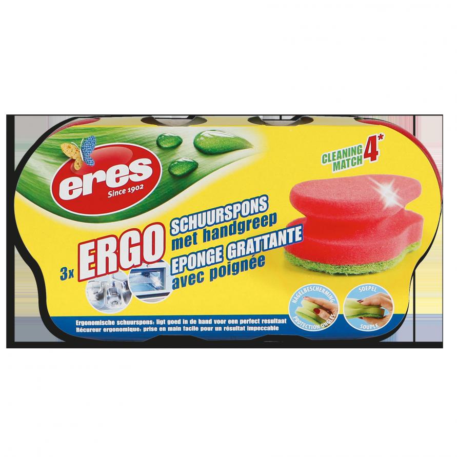 ERGO SCHUURSPONS HANDGREEP (PER 3)