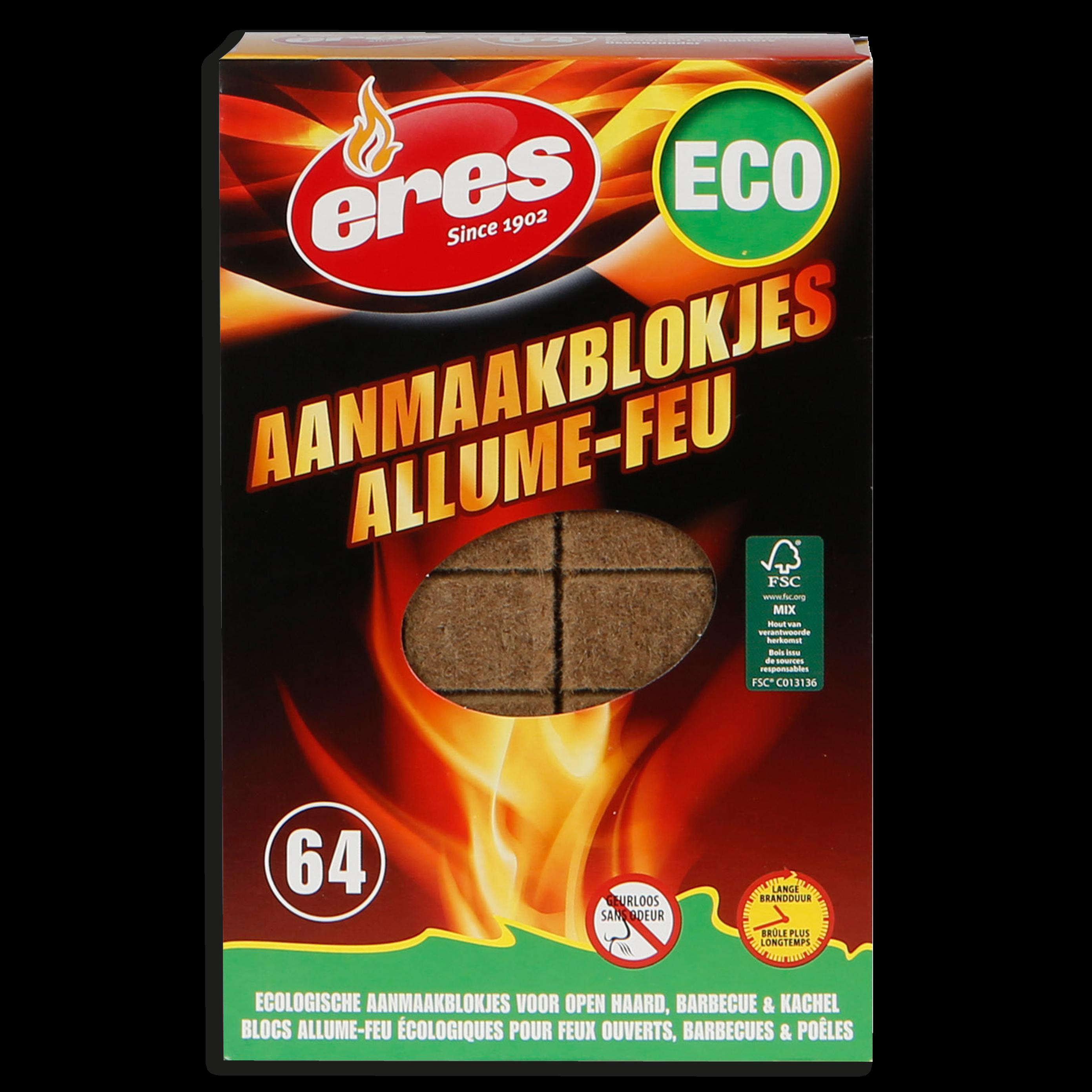 ALLUME-FEU ECO 64 pièces
