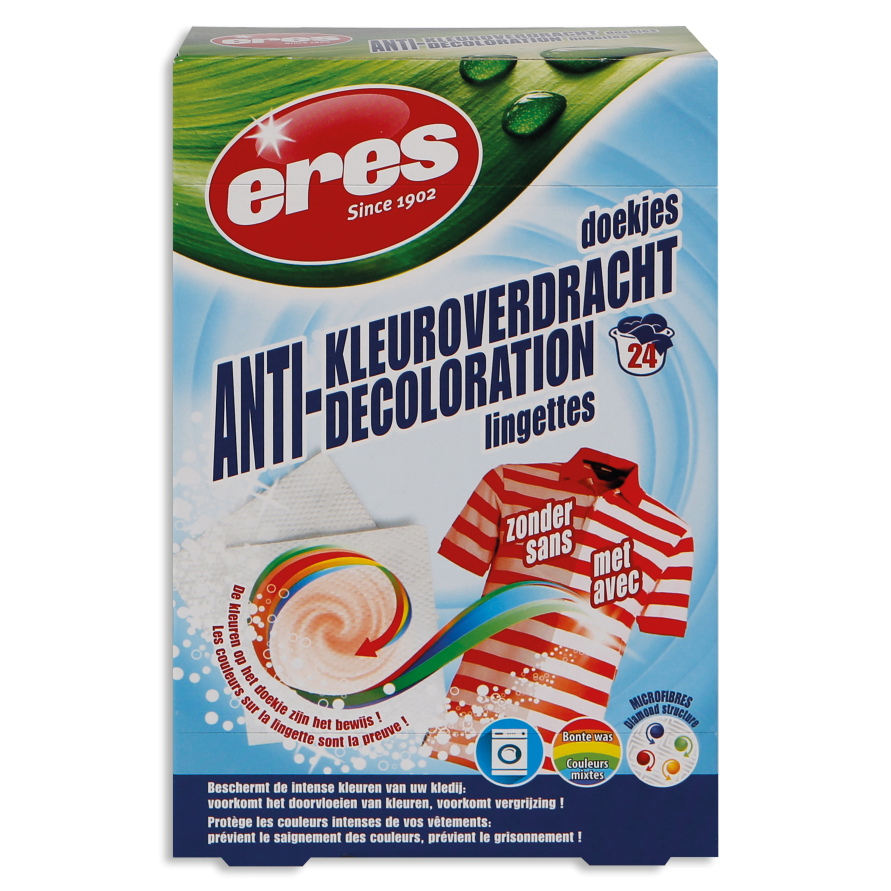 LINGETTES ANTI-DECOLORATION
