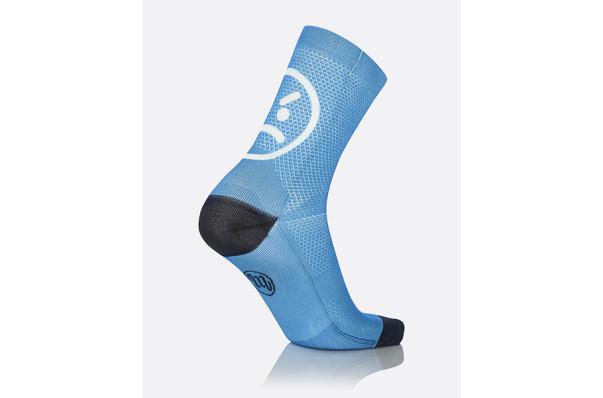 MBwear socks fun smile h15 licht blauw