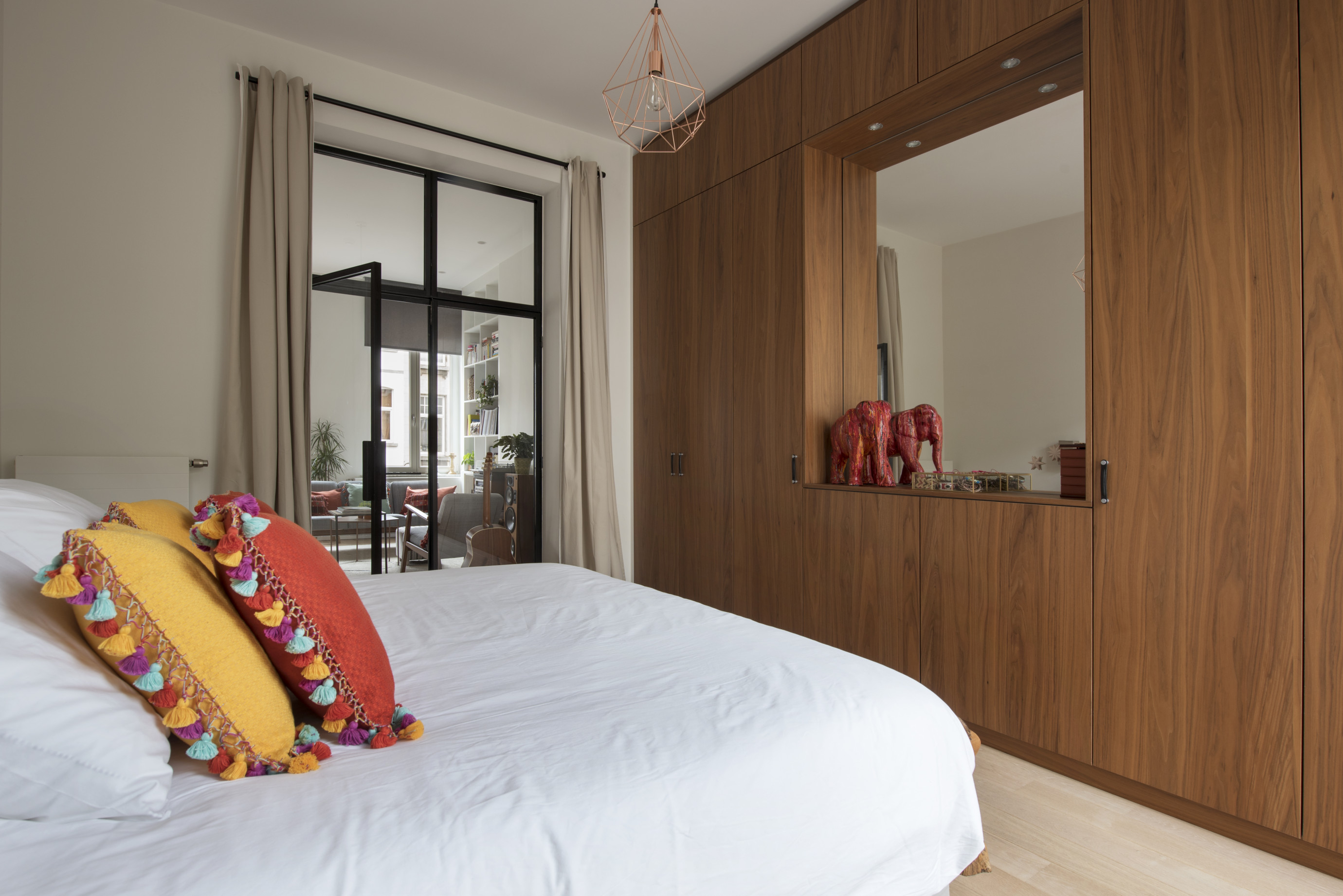 Design : Charlotte Marien Architecte - Realisation: Be-Wood