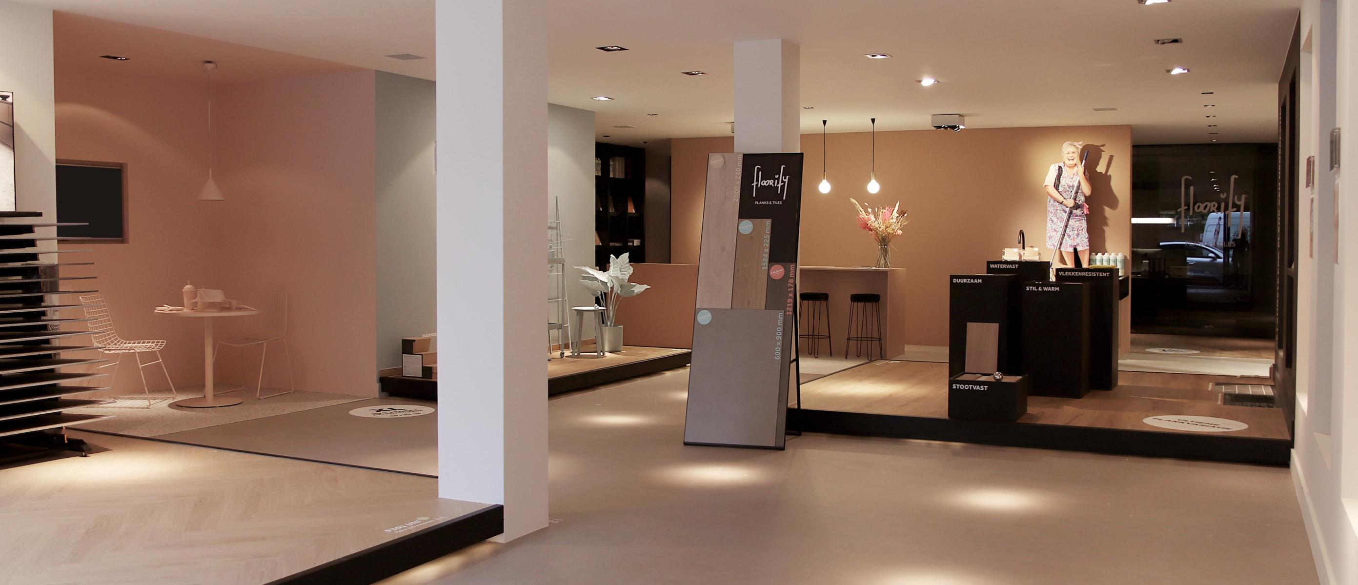 Floorify opent samen met NTU Utrecht eerste Instore Belevingswinkel op Woonboulevard Utrecht