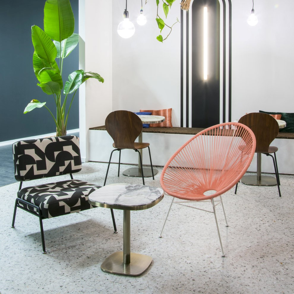 Move over marble, today it's all about terrazzo...