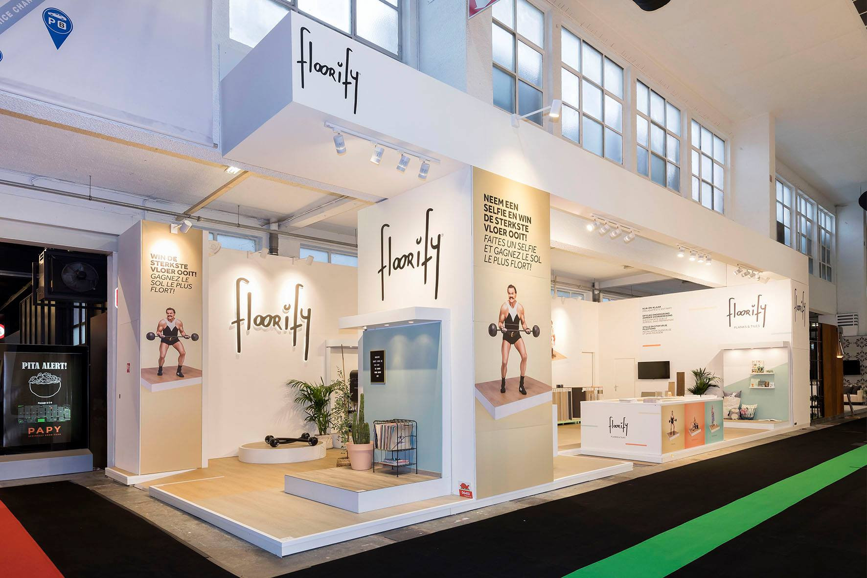 Floorify innovates at Batibouw!