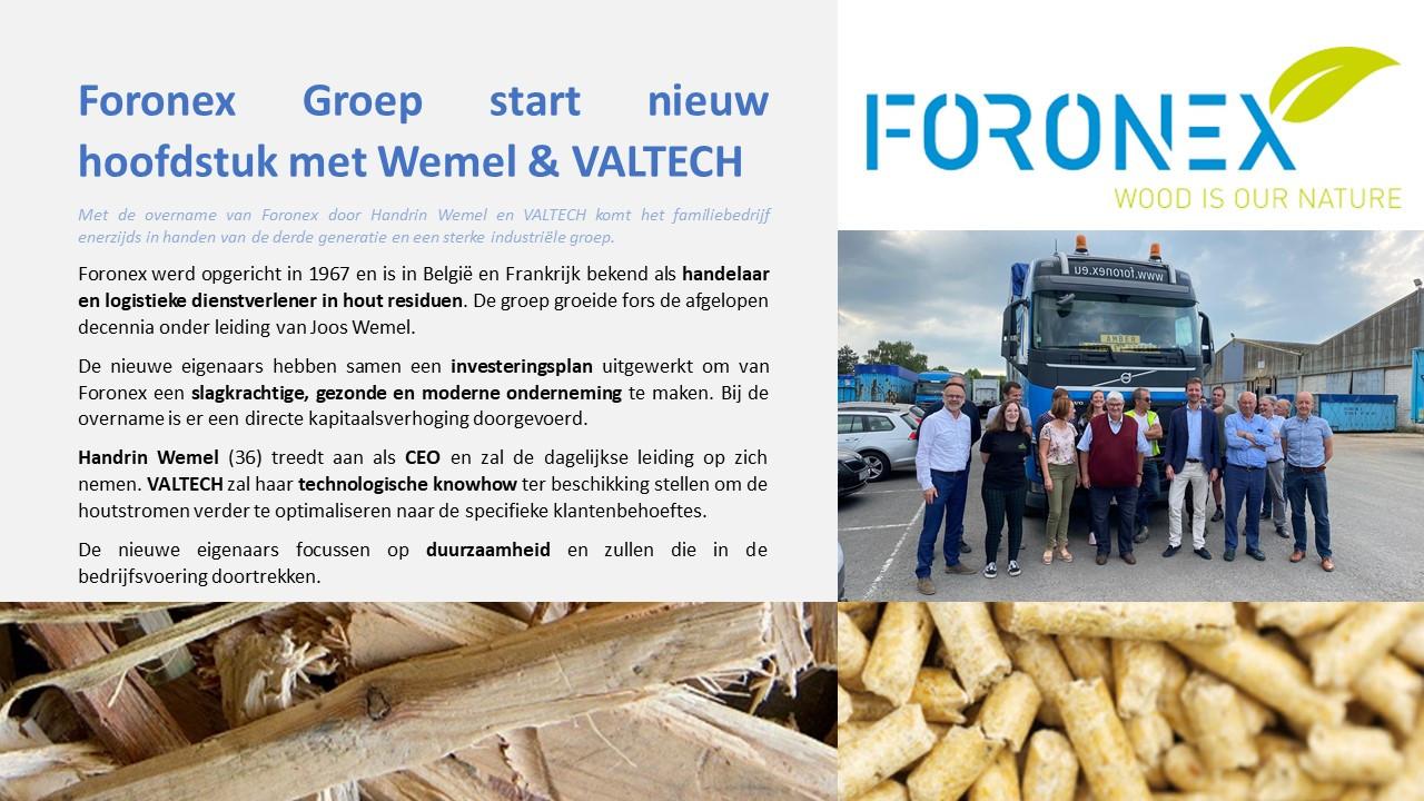 Foronex - External communication