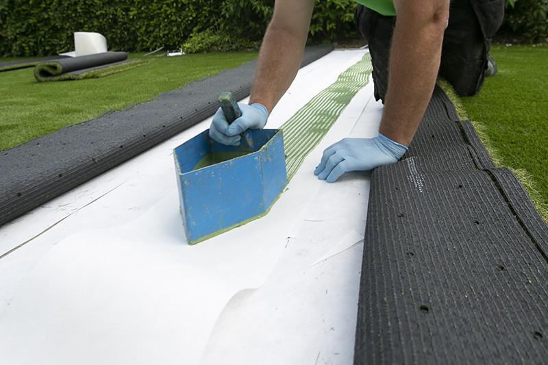 Plaatrsing Kunstgras | Grasmeester