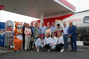 G&V team op de foto tijdens opening Esso Waregem