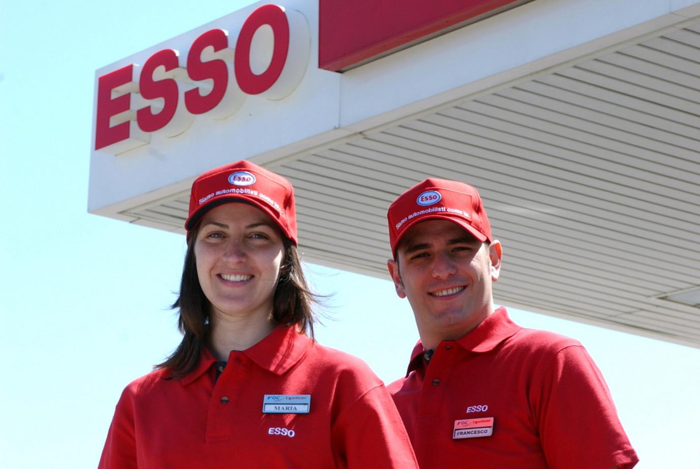 Vous êtes curieux à la carte de carburant Esso?