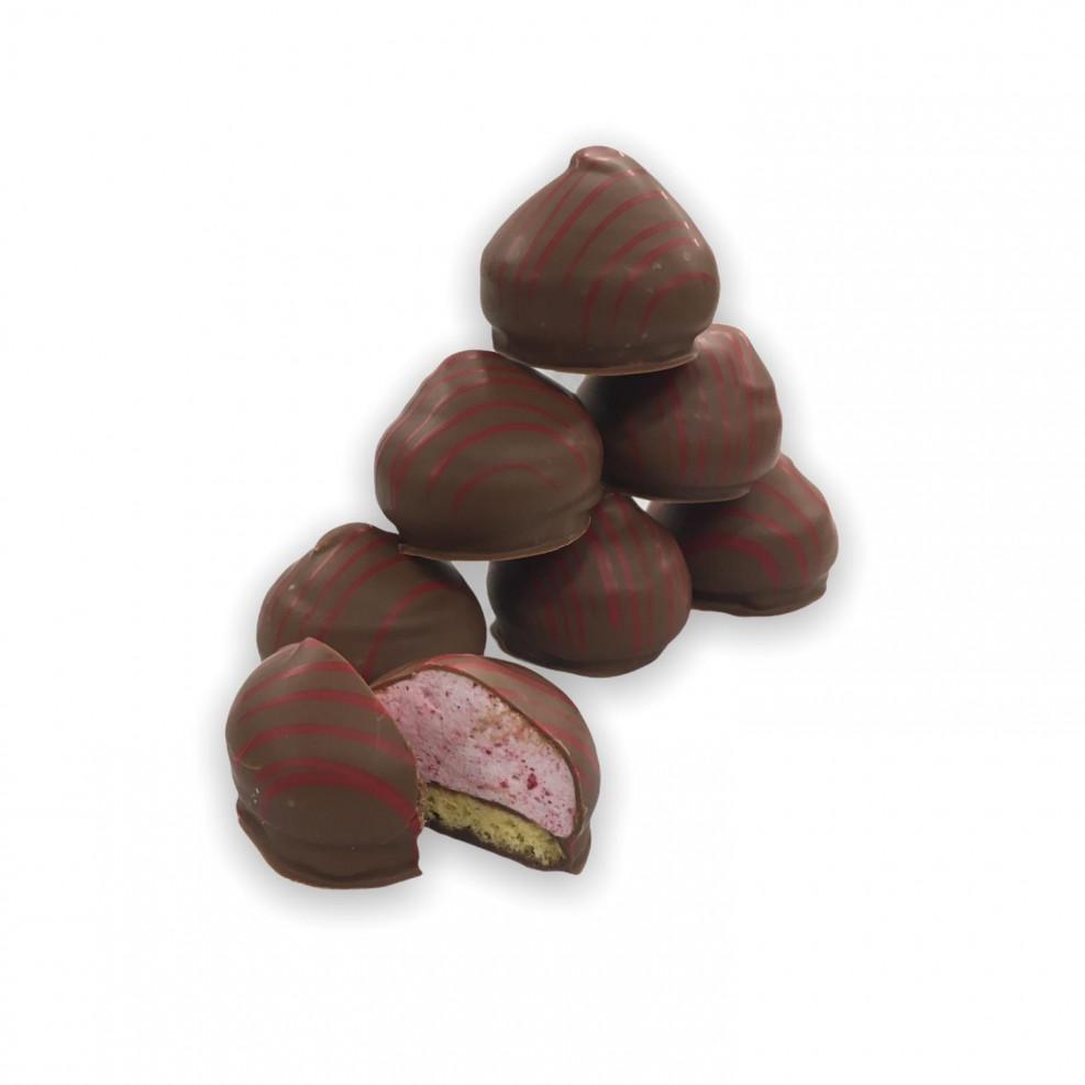 Chocoladezoenen framboos