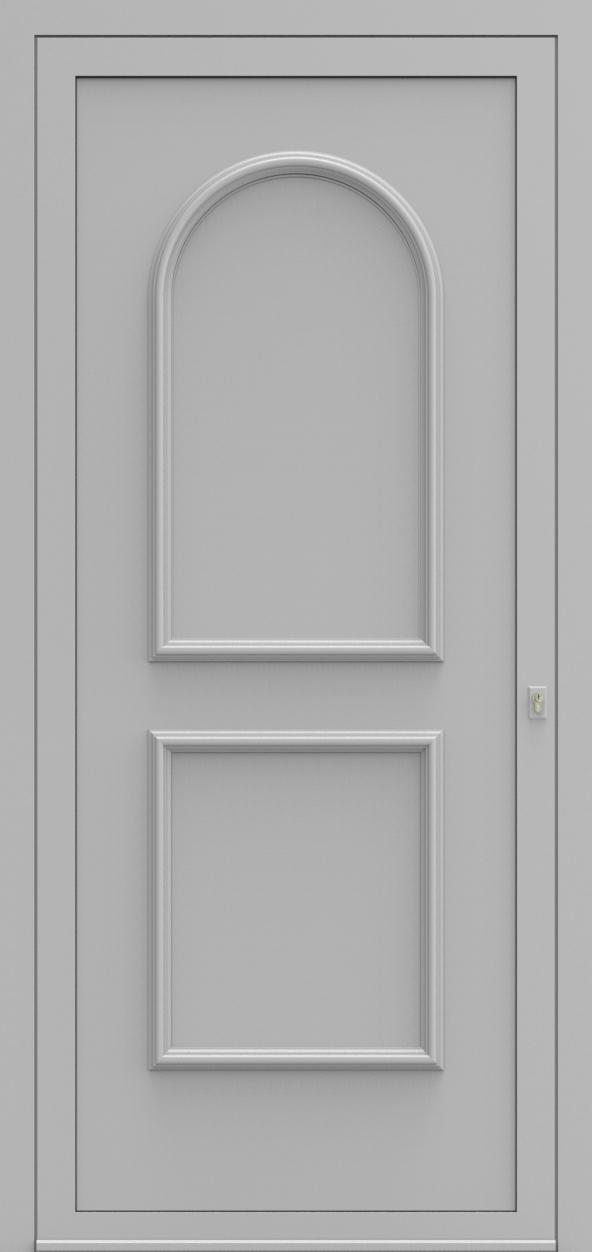 Porte d'entrée 101200 WENEN de la gamme Alufix posée par les établissements CELEREAU à Roncq