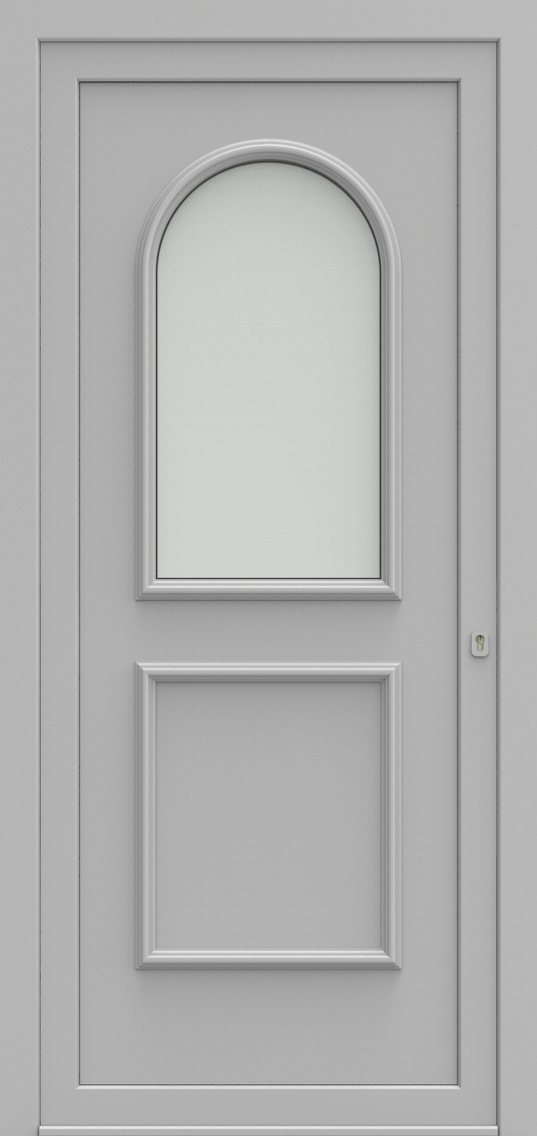 Porte d'entrée 101210 WENEN de la gamme Alufix posée par les établissements CELEREAU à Roncq