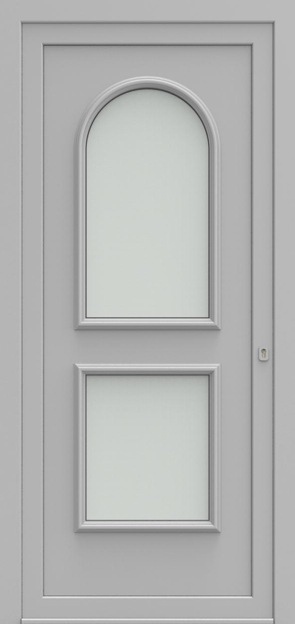 Porte d'entrée 101220 WENEN de la gamme Alufix posée par les établissements CELEREAU à Roncq