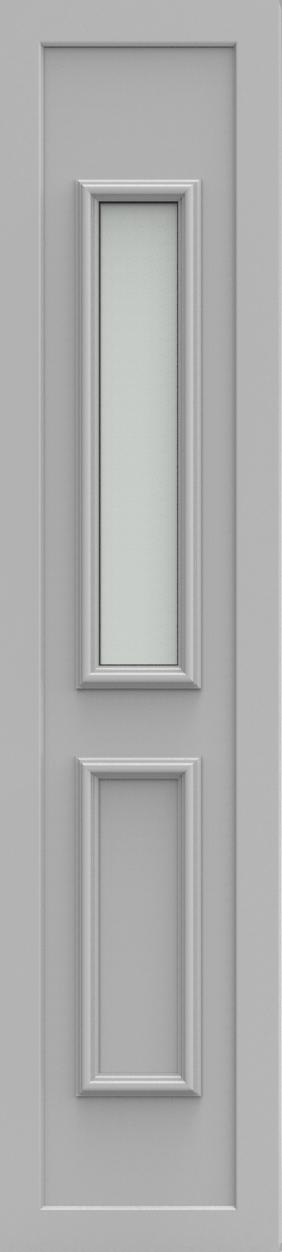Porte d'entrée 101519 PRAAG de la gamme Alufix posée par les établissements CELEREAU à Roncq