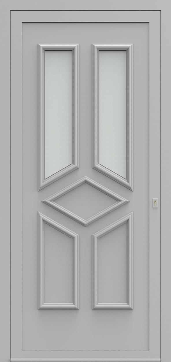 Porte d'entrée 101720 PARIJS de la gamme Alufix posée par les établissements CELEREAU à Roncq