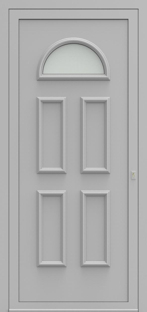 Porte d'entrée 102010 VENETIE de la gamme Alufix posée par les établissements CELEREAU à Roncq