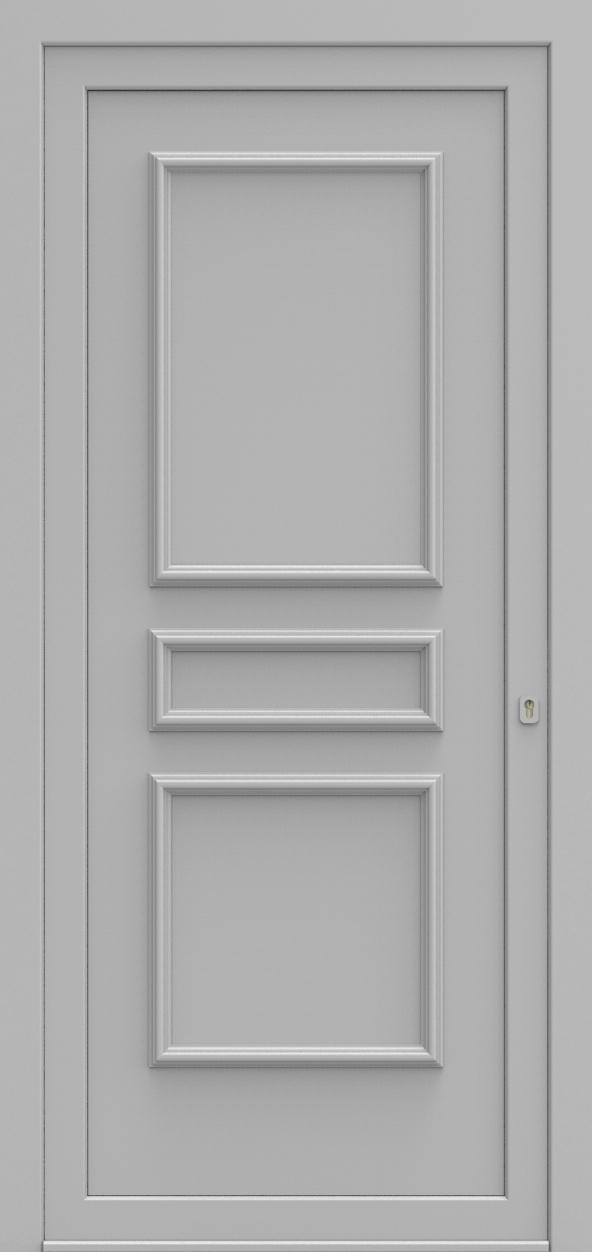 Porte d'entrée 102100 PORTO de la gamme Alufix posée par les établissements CELEREAU à Roncq