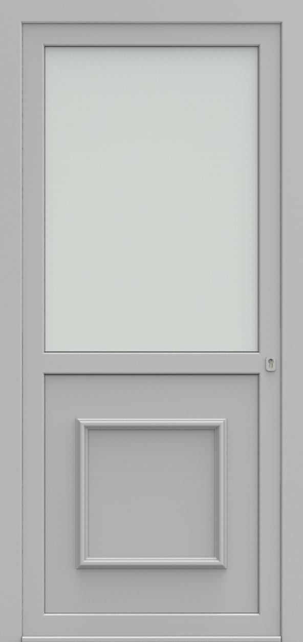 Porte d'entrée 102102 PORTO OND de la gamme Alufix posée par les établissements CELEREAU à Roncq