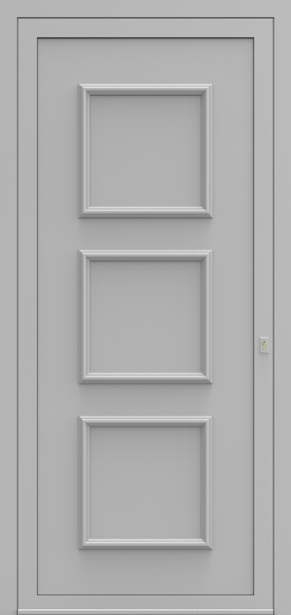 Porte d'entrée 102200 DOREA de la gamme Alufix posée par les établissements CELEREAU à Roncq